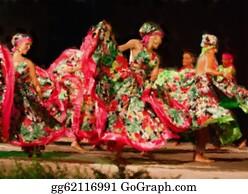 Perform - South American Dancers