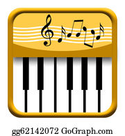 Music-Notes-On-Piano-Keyboard - Piano Music