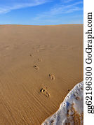 Baby-Footprint - Footprints Going Out Of Ocean