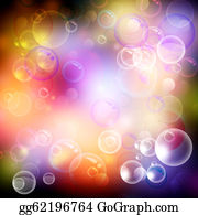 Spa - Bubble And Bokeh. Abstract Spa And Health Backgrounds