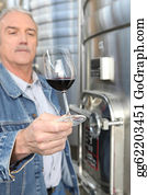 Sense-Of-Smell - Winemaker With A Glass Of Wine