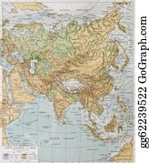 Map-Of-India - Asia