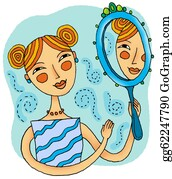 Mirror Image Stock Illustrations Royalty Free Gograph