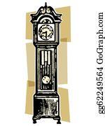 Grandfather-Clock - A Vintage Grandfather Clock