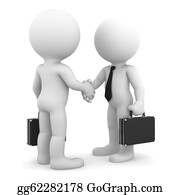 Congratulations - Business Colleagues Shaking Hands