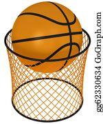 Basketball-Hoop - Basketball Hoop And Ball