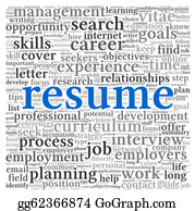 Employment - Resume Concept Words