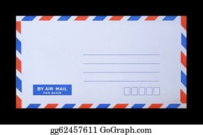 Air-Mail-Stamp - Mail Envelope