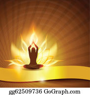 Golden-Lotus-Flower-Logo - Lotus Flower -Fire And Yoga