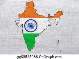 Map-Of-India - Flag And Map Of India