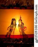 Dance-Of-Lights-In-The-Dark - Shadow Play In Bangkok Thailand