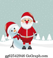 Falling-Snow-Background - Reindeer Red Nose Look Santa Claus