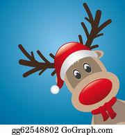 Antler - Reindeer Red Nose And Hat Scarf