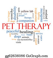 Therapy - Pet Therapy Word Cloud Concept