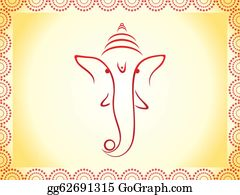Ganesha - Abstract Ganesha Wallpaper