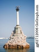Military-Eagle-Emblem - Monument To The Scuttled Ships