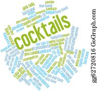 Mai - Word Cloud For Cocktails