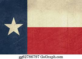 Texas-State-Flag - Grunge Texas State Flag