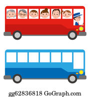 Bus-Drivers - The Illustration Of A Bus