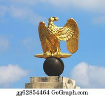 Military-Eagle-Emblem - Golden Napoleon Eagle