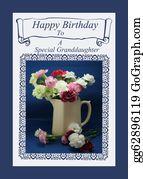 Granddaughter - Birthday Card For  Granddaughter