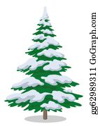 Fir-Tree - Christmas Tree With Snow