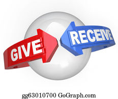 Fundraiser - Give And Receive Sharing Support Helping Others