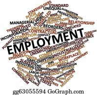 Employment - Word Cloud For Employment