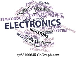 Conduction - Word Cloud For Electronics