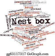 Opossum - Word Cloud For Nest Box