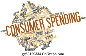 Spurs - Word Cloud For Consumer Spending