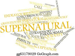Void - Word Cloud For Supernatural