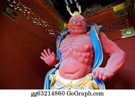 The-Wrath-Of-God - Nio Benevolent Kings Sculpture