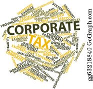 Tax-Return - Word Cloud For Corporate Tax
