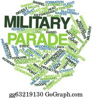 Parade - Word Cloud For Military Parade