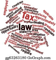 Employment - Word Cloud For Tax Law