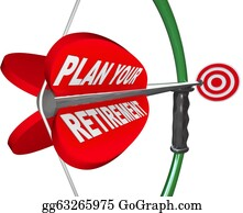 Retirement - Plan Your Retirement Bow Arrow Target Financial Savings