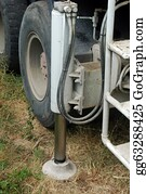 Concrete-Pump-Truck - Stabilizer Of A Plunger Pump Truck