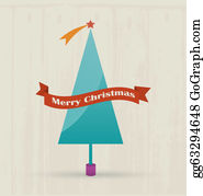 Merry-Christmas-Text - Christmas Tree With Merry Christmas Text.