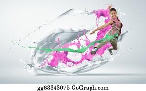 Acrobatic - Modern Style Dancer