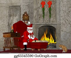Little-Girls - Santa And The Naughty And Nice Book