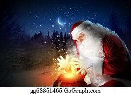 Beards - Christmas Theme With Santa