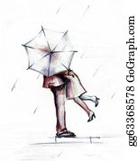Umbrella - In The Rain