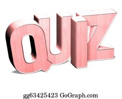 Lottery-Winner - 3d Word Quiz On White Background