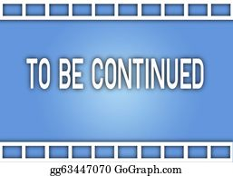 Movie-Production - The Word To Be Continued On Film Strip