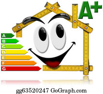 Electric-Meter - Energy Saving - House Smiling Meter Tool
