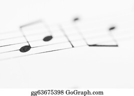 Sheet-Music - Macro Sheet Music Notes.