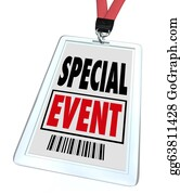 Conference - Special Event Badge Lanyard Conference Expo Convention
