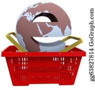 Basket - Ecommerce World In Shopping Basket