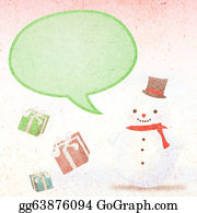 Melting-Snowman - Snowman And Gifts